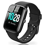 Full Touchscreen Smart Watch for Android Phones, Sleep Tracking Smartwatch for Men Women with GPS Tracker Heart Rate Monitor, 5ATM Waterproof Fitness Activity Tracker Smart Wrist Watches