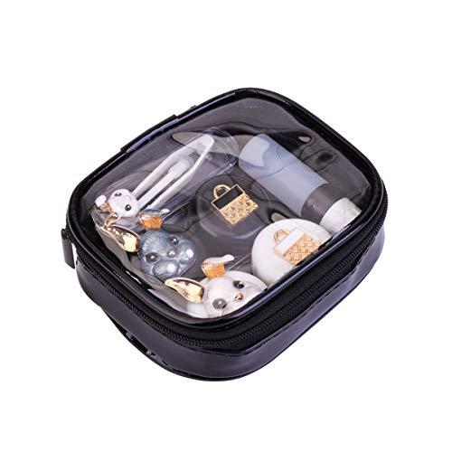 HEALLILY Kontaktlinsen-Reisekit Tragbare Kontaktlinsenhalter Pinzette Saugstabflasche Aufbewahrungsbox