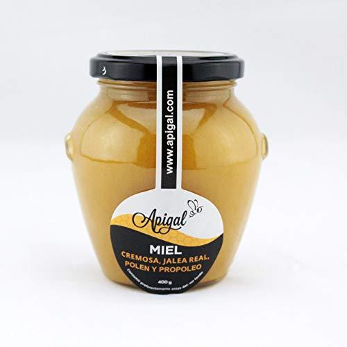 Miel con jalea real, polen y propóleo 400g