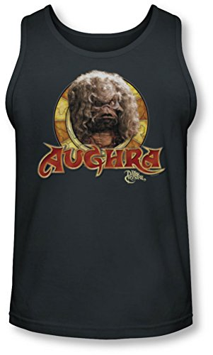 Dark Crystal - - Aughra Cercle Tank-Top pour hommes, X-Large, Charcoal