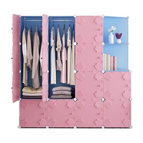 1yess Kind Schrank, Kunststoff Kombination Multi-Layer-Aufbewahrungsbehälter-Kleidung Socken Finishing Kabinett, 75-147CM (Farbe: B-111 * 47 * 147cm) (Color : H147*47 * 147cm)