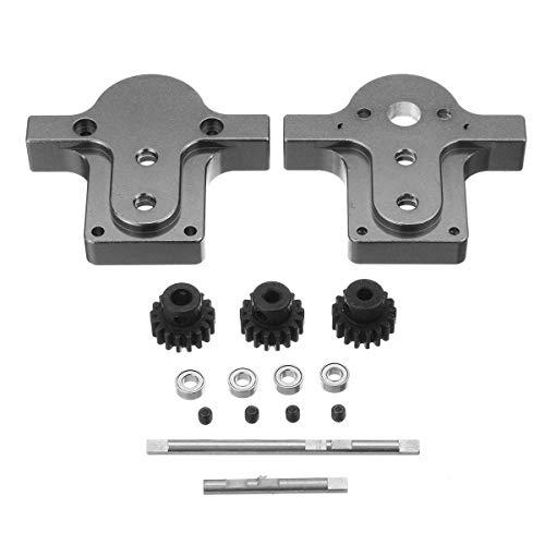 XCQ 1/16 Metallübertragungsgetriebe Kit für WPL B16 B24 B14 C14 C24 B36 Anpassungsschrauben langlebig 0325