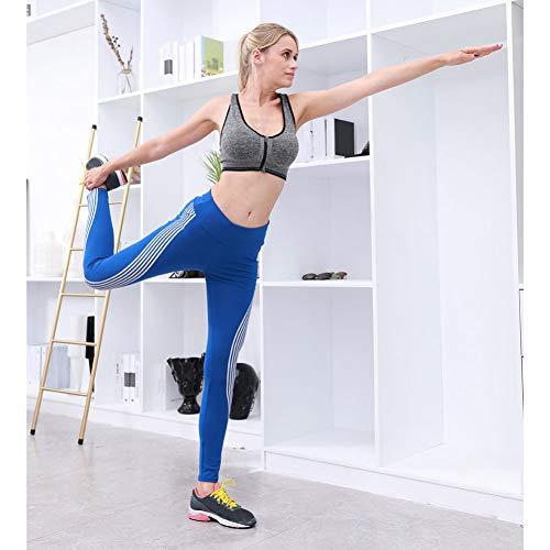 YUJIAKU Yoga broek/strak/Mode Yoga Broek Vrouwen Elastische Taille Vrouwen Neon Regenboog Leggings Fitness Sport Gym Hardlopen Yoga Athletic Pant