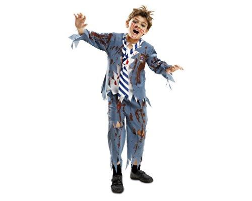 Desconocido My Other Me-201911 Disfraz de estudiante zombie chico para niño, 7-9 años (Viving Costumes 201911)
