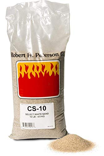 R.H. Peterson Gas Log Accessories CS-10 CS-10 Select White Silica Sand No particular finish