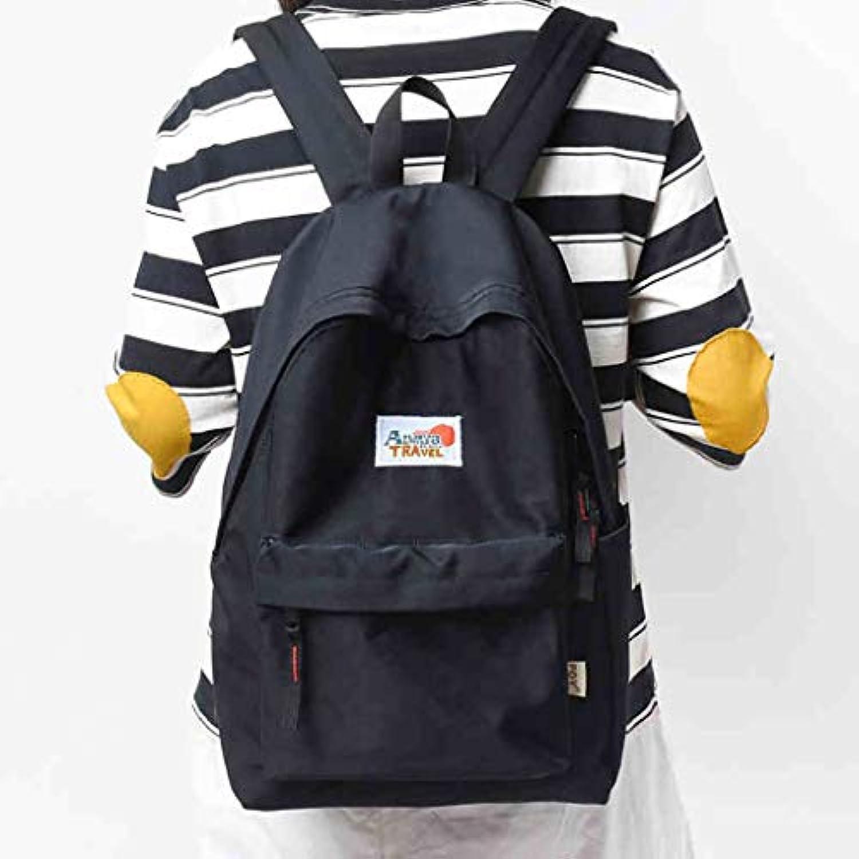 YYBD Backpack school bag Travel bag Retro Leisure bag Polyester 30  13  41CM