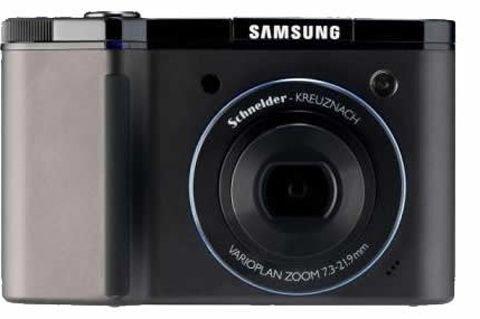 Samsung NV8 Digitalkamera (8 Megapixel, 3-Fach Opt. Zoom, 6,4 cm (2,5 Zoll) Display, ISO 3200) schwarz