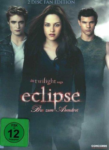DVD Twilight Eclipse - Bis(s) zum Abendrot, 2 DVDs