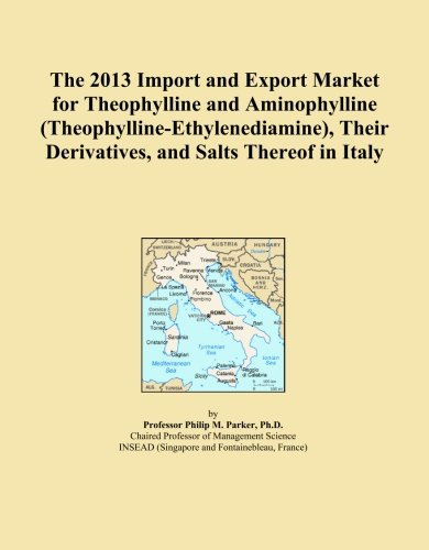 The 2013 Import and Export Market for Theophylline and Aminophylline (Theophylline-Ethylenediamine), Their Derivatives, and Salts Thereof in Italy