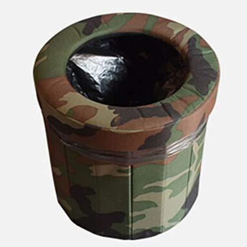 Portable Pliable Toilettes De Voiture-Mobile Toilettes d'urgence,Pot pour Adultes Enfants/Femme Enceinte des vomissements,approprié pour d'urgence en Plein Air,Camping et de Couchage,Voiture Voyage