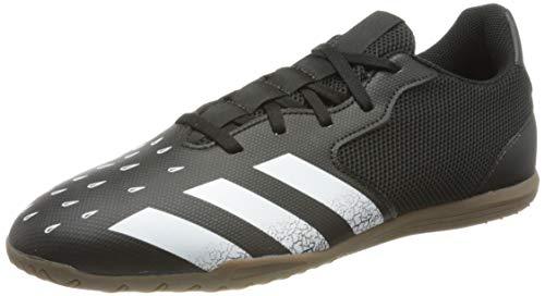 adidas Predator Freak .4 IN Sala, Zapatillas de fútbol Hombre, NEGBÁS/FTWBLA/GUM5, 39 1/3 EU
