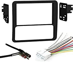 Metra 95-3027 Double DIN Dash Kit with Harness + Antenna Combo for Select Chevy/GMC/Isuzu Small Trucks/SUVs 1998-2002