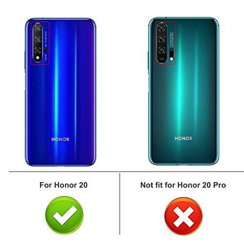 iBetter für Honor 20 Hülle, für Huawei Nova 5T Hülle, Soft TPU Ultradünn Cover [Slim-Fit] [Anti-Scratch] [Shock Absorption] passt für Honor 20 Smartphone, klar - 2