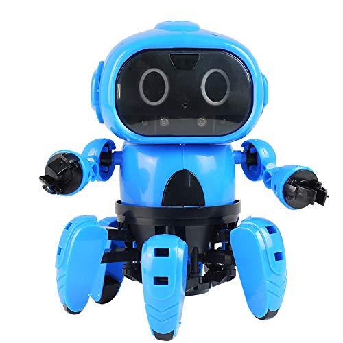 Electric Robot Diy Electric Toy Infraröd Hinder Undvikande Toy Följ Robot Gesture Sensing Följande Robot För Barn Present Toy Robot
