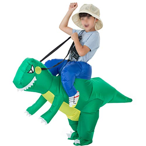 Mallalah Costume Dinosaure Adulte et Enfant Inflatable Performance Tyrannosaurus Gonflable Costume...