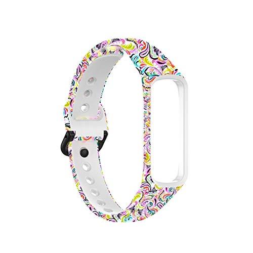 Para Samsung Galaxy Fit2 SM-R220 SmartWatch Strap Cinturón de reemplazo #147258 (Color : Face Makeup)