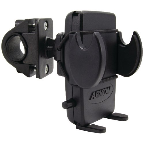 Arkon Bike Handlebar Phone Holder Mount for iPhone X 8 7 6S Plus 8 7 6S Galaxy Note Retail Black