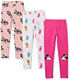 Amazon Essentials Disney Star Wars Marvel Princess Leggings Pants, Paquete de 3 Forever Mickey, US 2T (EU 92-98)