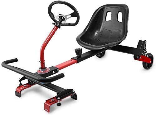 Knoijijuo (Equipo De Protección Enviar + Flash) Asientos Hoverboard, Accesorios Aerotabla-Kart, Scooters...