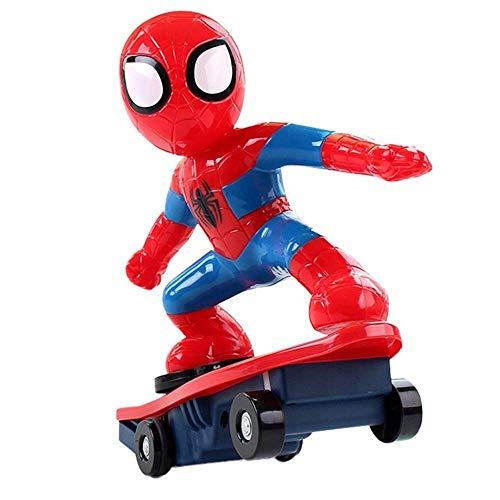 WXFQX Avengers 3 Spider-Man elektrische Fernbedienung Stunt Car Tumbler Kinderspielzeug Geschenke für Kinder