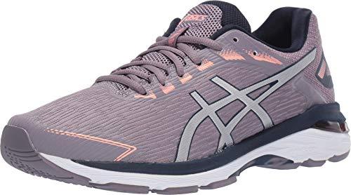 ASICS Women's GT-2000 7 Twist Shoes, 8.5M, Lavender Grey/Silver