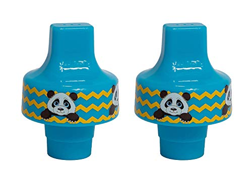 Fantastic Prices! Panda Sippy Top Kid Universal Bottle Adapter, fits Most Water Bottles (2-Pack)