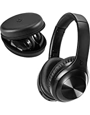 acme BH316 Noise Cancelling Headphones With Mic I Noise Cancelling Bluetooth Headphones Over Ear I Wireless Headphones With Bluetooth Rechargeable Battery Stylish Protective Case Included