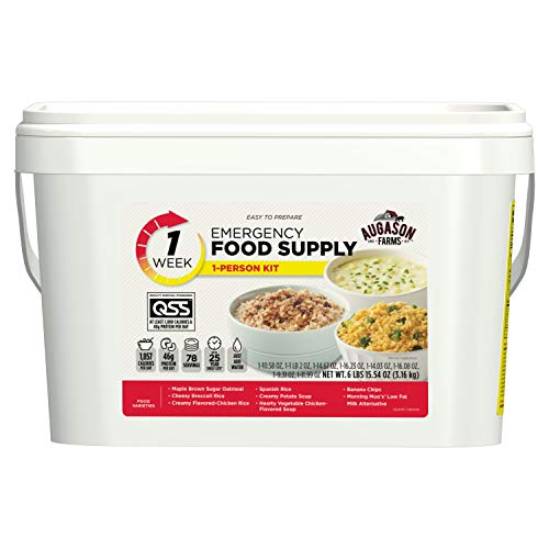 Augason Farms 1-Week 1-Person Emergency Food Supply Kit 6 lbs 15 oz