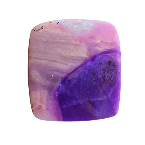 Ravishing Impressions Joyería Piedra de Sugilita, Cabujón de Sugilita Púrpura Natural, Tamaño 37 x 34 x 4 mm Fabricación de joyas, Piedra colgante, Pulido Liso, Sugilita Rara AG-14986