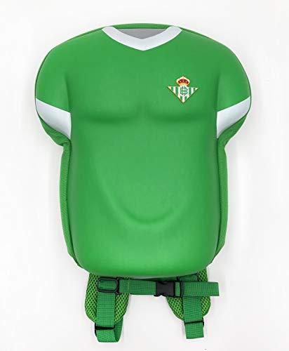 Real Betis Balompié- Mochila forma camiseta. Producto oficial Real Betis Balompié.