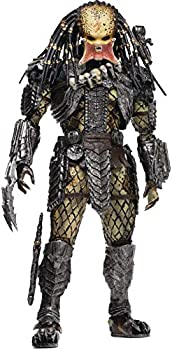Hiya Toys Alien vs Predator  Unmasked Scar Predator 1 18 Scale Action Figure Multicolor