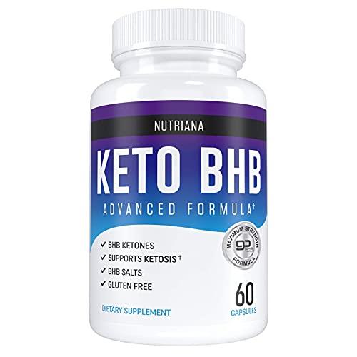 Bhb for Ketosis - Keto Salt Substances Exogenous Cetones - 30 Days Nutriana Nutriana Supplies Nutriana Keto Substances for Men