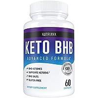 60-Count Nutriana Keto Diet Pills for Women and Men
