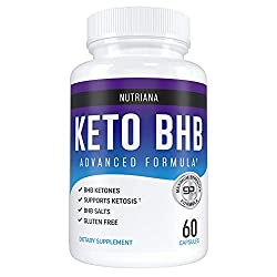 top rated Nutriana Keto Diet Pills-Ketogenic Complete Keto Pills for Women and Men-BHB Keto Supplements … 2021