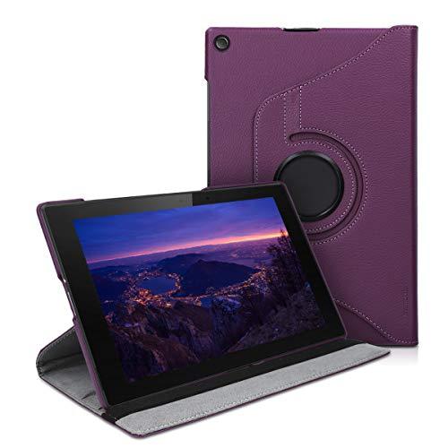 kwmobile Schutzhülle kompatibel mit Sony Xperia Tablet Z2 - Hülle 360° Tablet Cover Hülle Violett