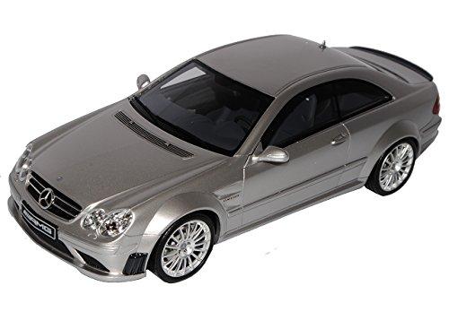 Mercedes-Benz CLK C209 Coupe Silber Black Series 2002-2010 Nr 227 limitiert 1 von 2000 1/18 Otto Modell Auto