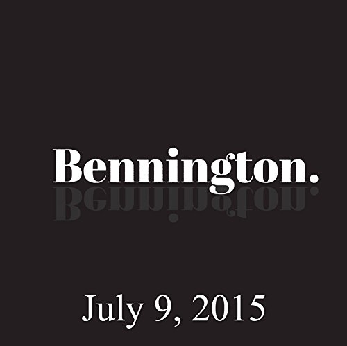 Bennington, Jim Gaffigan, July 9, 2015 audiobook cover art