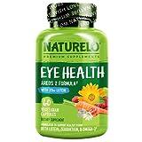 Best Eye Vitamins - NATURELO Eye Vitamins - AREDS 2 Formula Nutrients Review