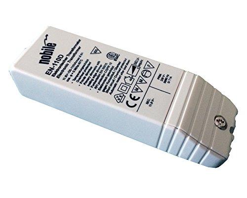 Elektronischer Transformator 35-110VA / 12V / 230V Einbau Trafo EN-110 D AC/DC für Halogen und LED