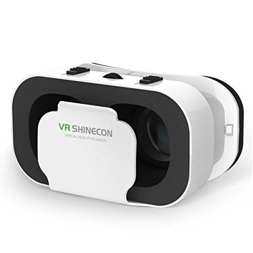 VR Gafas, 3d vr auricular Gafas 3d vr realidad virtual Headset Gafas de realidad virtual para películas y juegos 3d virtual Reality 3d Glasses