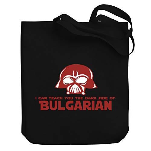 "Teeburon I Can Teach You The Dark Side of Bulgarian Bolsa de Lona 10.5"" x 16"" x 4"""