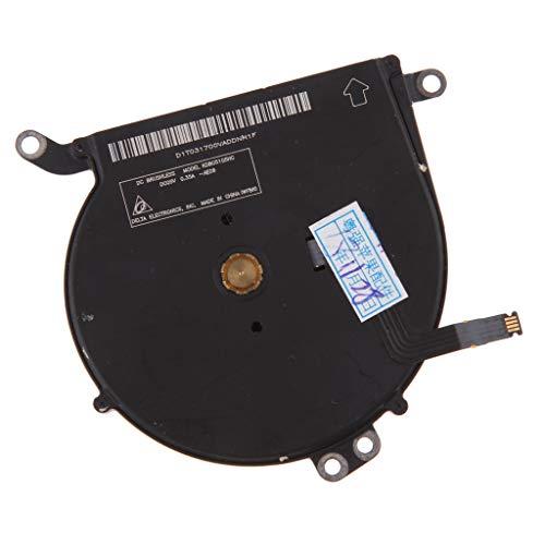 prasku Reemplazo del Ventilador de Refrigeración de La CPU del Ordenador Portátil para Air 13'A1466 4 Pines