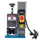 CO-Z 180W Máquina Peladora de Cables Eléctrica para Reciclaje de Desechos de Cobre 1.5 mm ~ 25 mm Máquina Electrónica de Pelacable Automática Velocidad Máxima 20m por Minuto