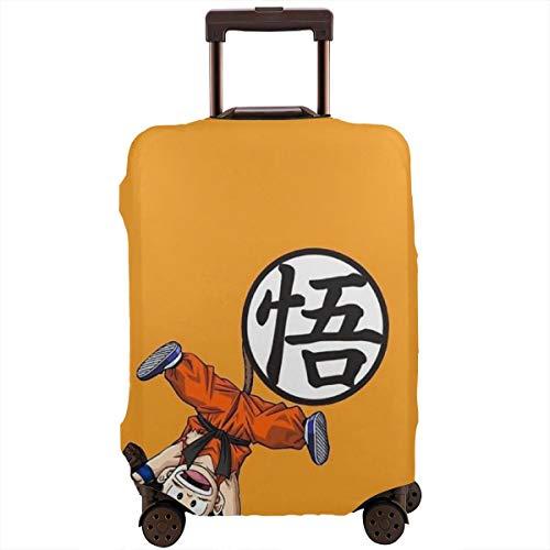 Funda para equipaje de viaje con diseño de Dragon Ball Goku, lavable, de 18 a 32 pulgadas