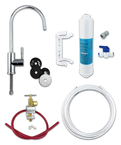 Finerfilters Classic Undersink Drinking Water Filter Kit System Including Tap and Accessories (Chrome)