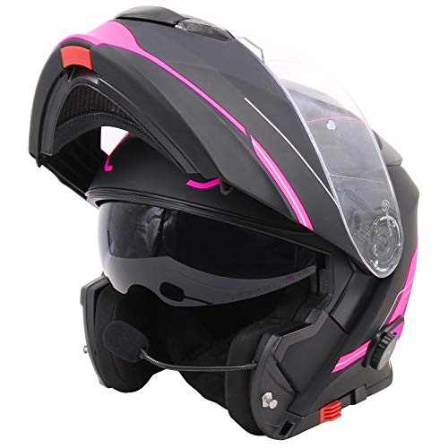 Casco de moto con bluetooth