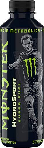 Monster Striker HydroSport, Lime & Lemon Flavour Energy Drink, BCAA, Gas & Sugar Free, 650 ml