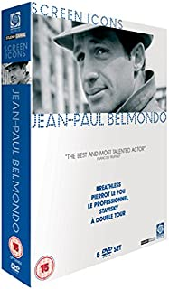 Jean-Paul Belmondo Collection À bout de souffle / Pierrot le fou / Le professionnel / L'empire d'Alexandre / À double tour  Br NON-USA FORMAT, PAL, Reg.2 United Kingdom
