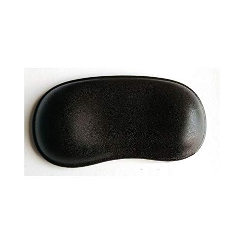 Tollmllom Badekissen Massage-Badewanne Zubehör Badewanne Holzfaß Whirlpool Kissen Durable Badewanne Kissen Atmungsaktiver Entspannungskomfort (Farbe : Black, Size : 28.5 x 15cm)