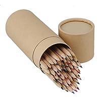 木製描画鉛筆 クラフトシリンダー付き 48色セット